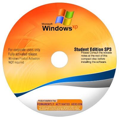 Windows XP SP3 Student Edition - Mediafire