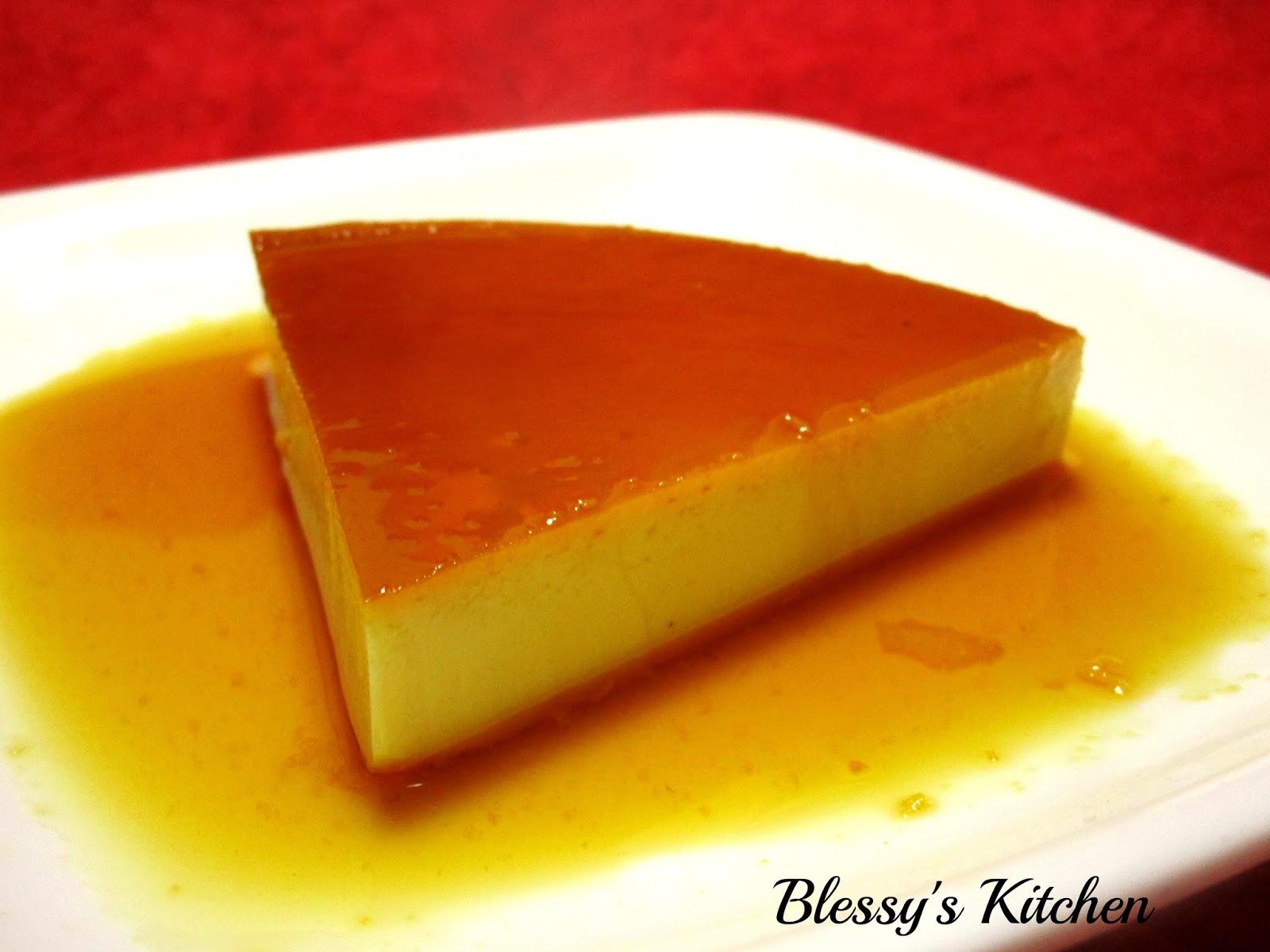 Blessy's Kitchen: Leche Flan/ Caramel Custard/ Caramel ...