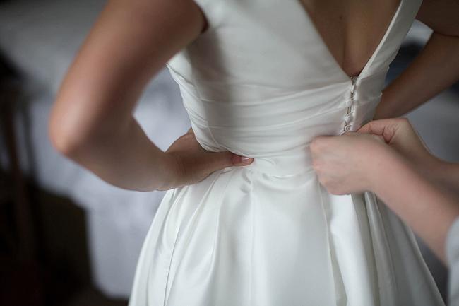 Wedding Photography Doonbeg Ireland, bride in floral crown and Jesus Peiro dress