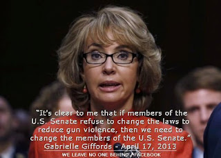 Gabby Giffords speaks out: Time to change Politics and vote out Politicians who don't represent US.