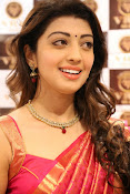 Pranitha glamorous photos at VRK Silks-thumbnail-17