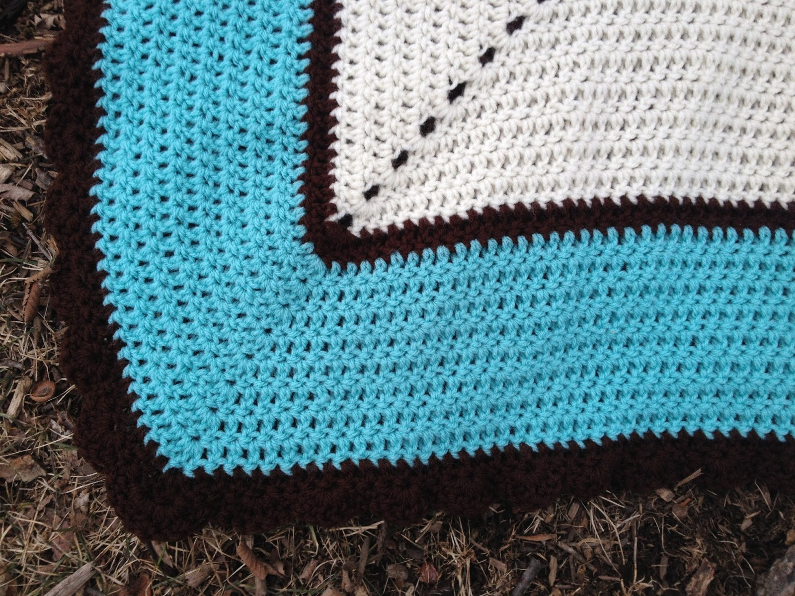 Crochet Patterns K Hook : Skein and Hook: Free Crochet Pattern: Bretton Baby Blanket