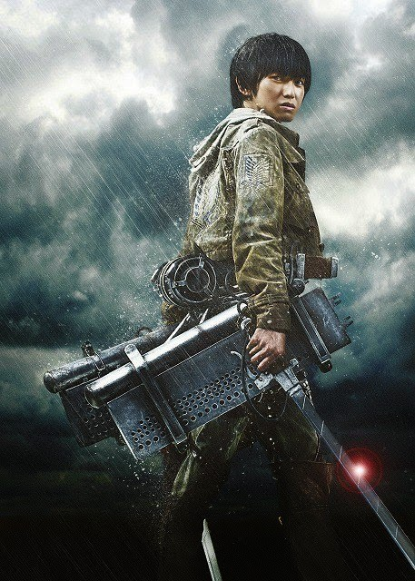 armin live action attack on titan