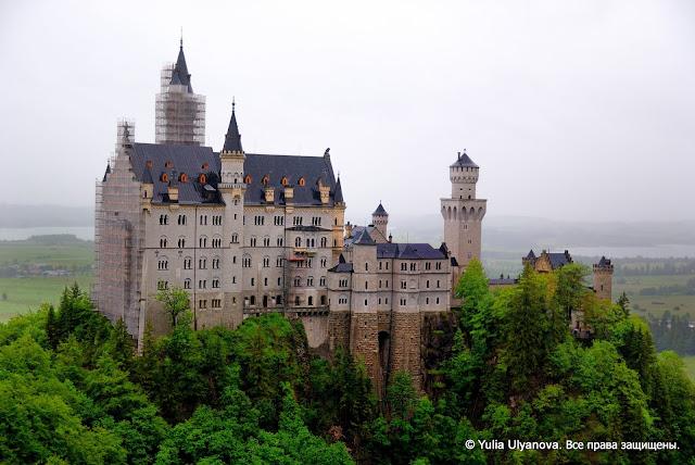 Замок Ноишванштайн, Фюссен, Германия
