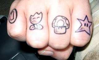Knuckle Tattoo Ideas - Knuckle Tattoo Design Photo Gallery