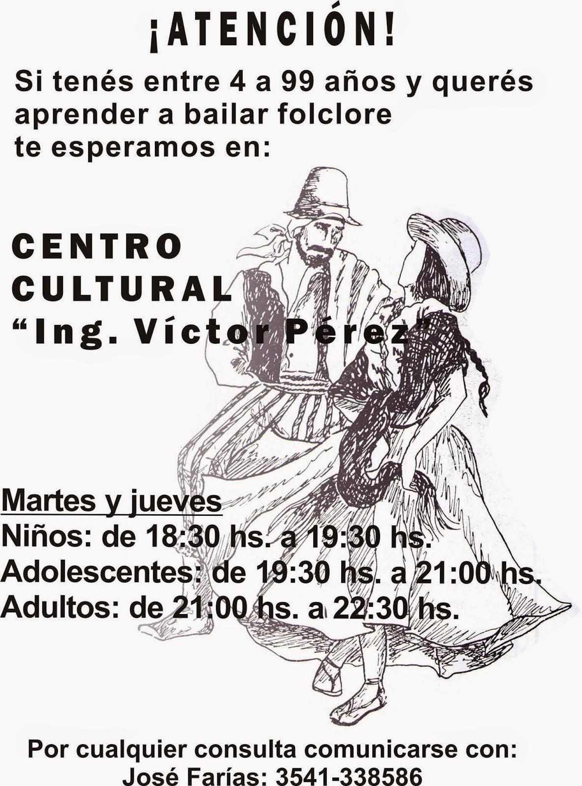 FOLCLORE EN EL CENTRO CULTURAL