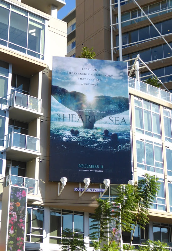 In the Heart of the Sea portrait billboard