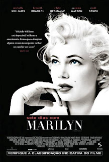 "Pôster do filme ""Sete Dias com Marilyn"""