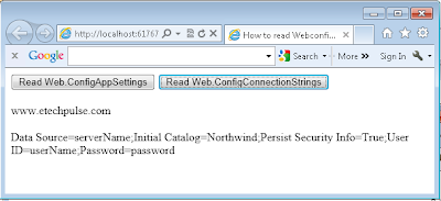 config web,net web application,client side, in java script,aspnet