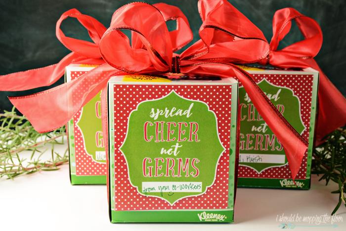 Spread Cheer Not Germs Free Kleenex® Printable