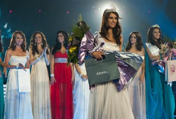 Miss Bulgaria Мис България 2012 winner Ina Ivailova Mancheva