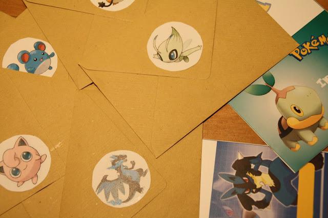 carton invitation pokemon anniversaire