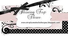 Top 3 at Simply Create Nov 2011