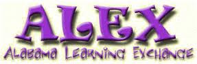 An image that says alex which stands for alabama learning exchange