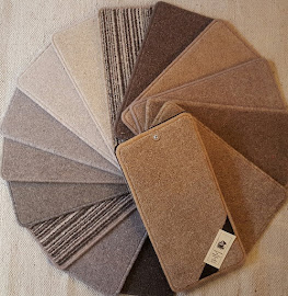 Quality for less!, a pallett of shades in twist pile