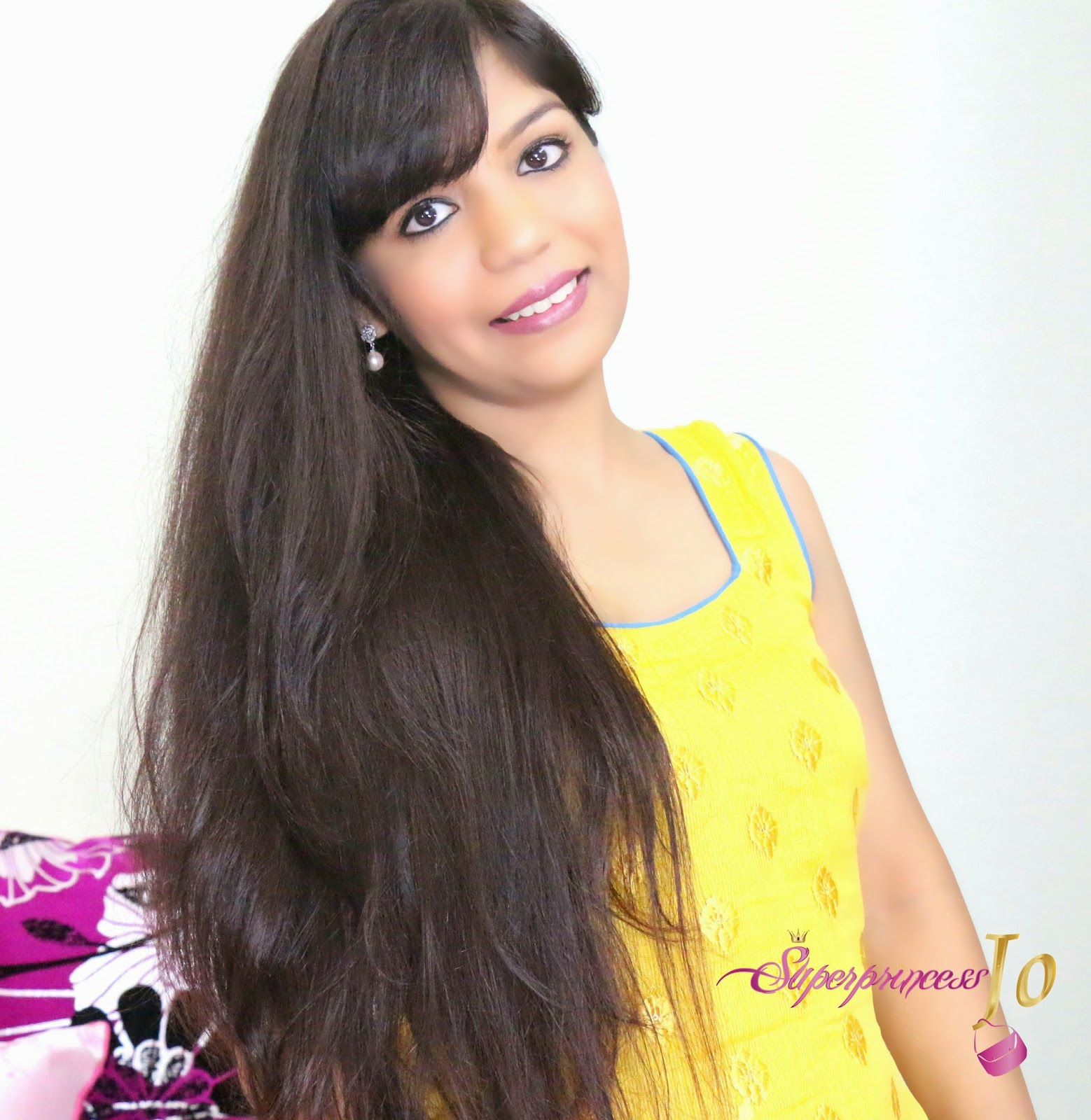Superprincessjo How To Apply Henna Dye To Natural Long Hair Indian