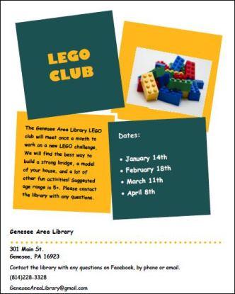 4-8 Lego Club