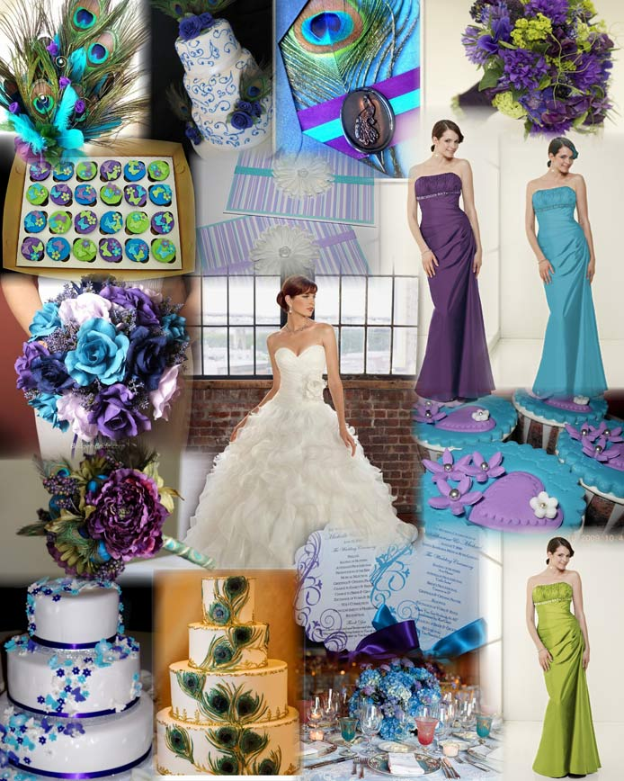 Angees Eventions Peacock Themed Wedding