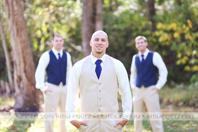 photo of groom and groomsmen