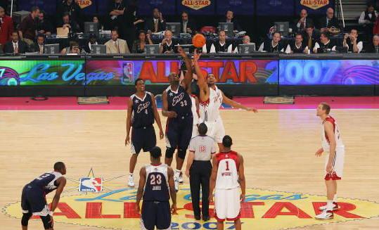 como se inicia un partido de baloncesto:
