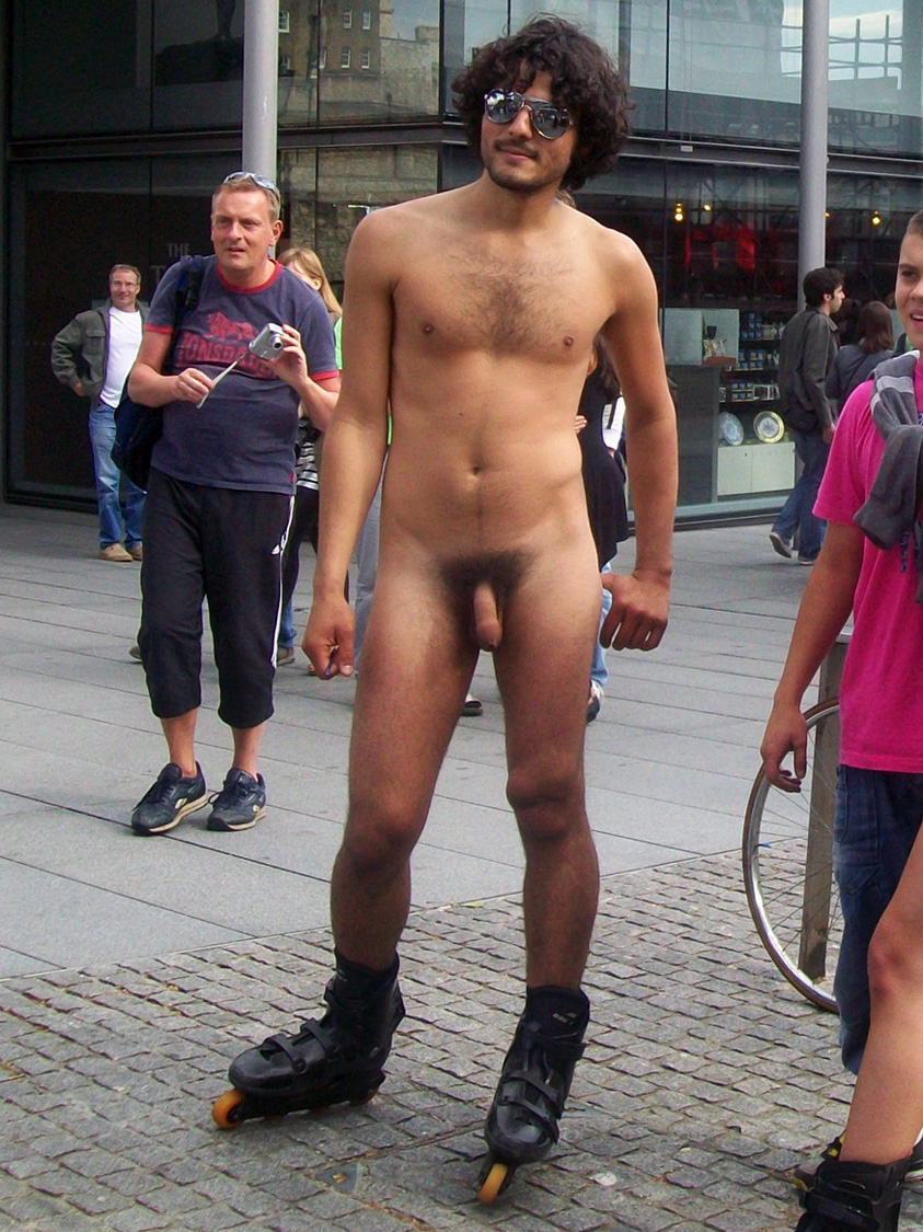 The point Men nude male public sorry