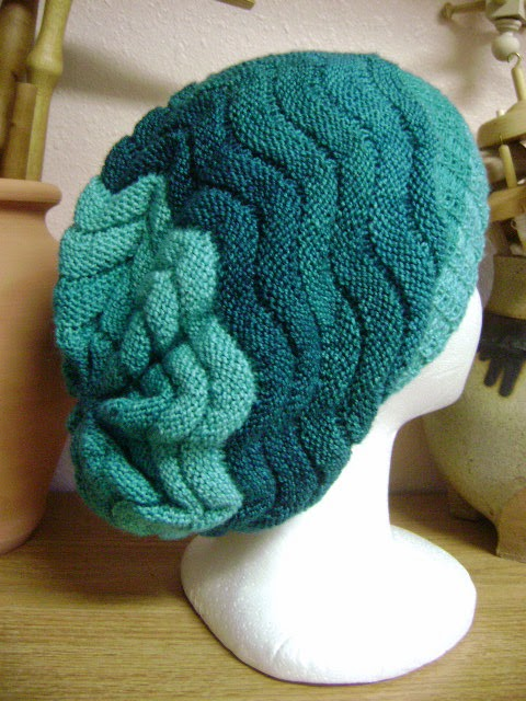 Ripply Slouch Hat