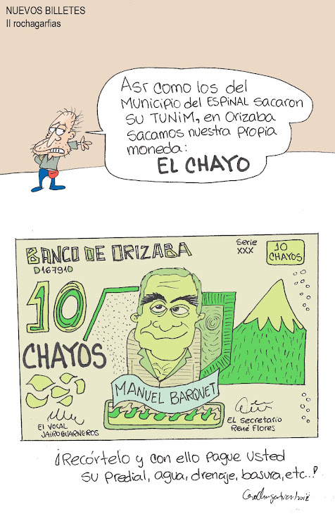 BILLETE ORIZABEÑO