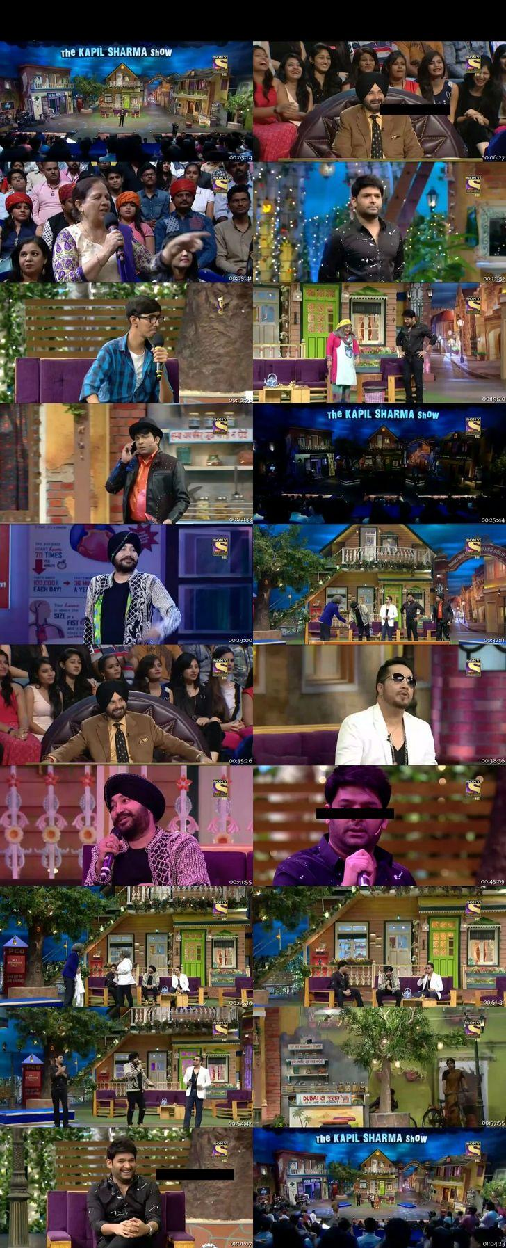 Screen Shot Of The Kapil Sharma Show 4th December 2016 Episode 65 300MB Watch Online