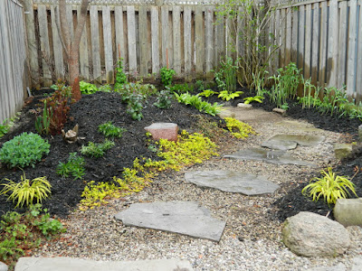 Paul Jung Gardening Services Toronto Danforth Coxwell backyard renovation after