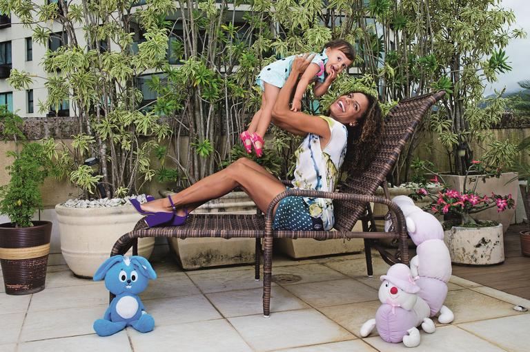 Quitéria Chagas revela-se a musa maternal