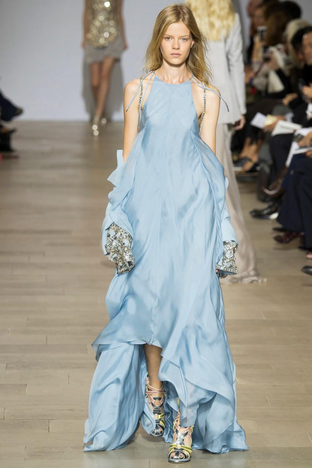 Antonio Berardi Spring/Summer 2016 / London fashion week via www.fashionedbylove.co.uk