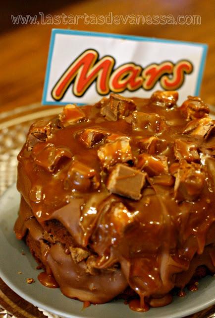 receta de tarta mars