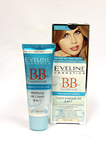 Eveline, BB cream, 6 in 1 bb cream, matte BB cream, matte skin, clear skin, smooth skin, beauty, beauty blogger, BB cream review