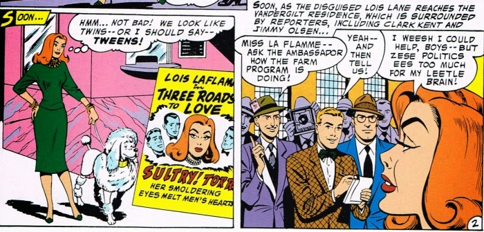 Lois Lane Kidnapped a Dog