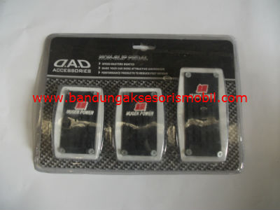 Pedal Gas Manual New Model Power Mugen Putih