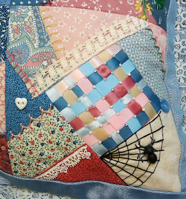 Lower right quilt block
