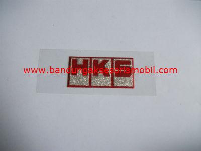 Emblem Metalic Small HKS Merah