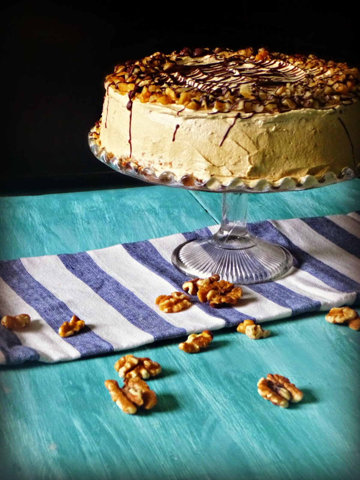 The Spoon And Whisk Coffee Cinnamon And Walnut Cake