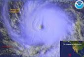 monitoreo de huracanes