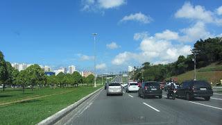 Salvador - rodovia de acesso ao aeroporto
