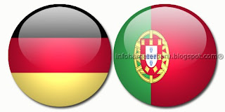 Hasil Skor Akhir Jerman vs Portugal | Euro Cup | Minggu 10 Juni 2012