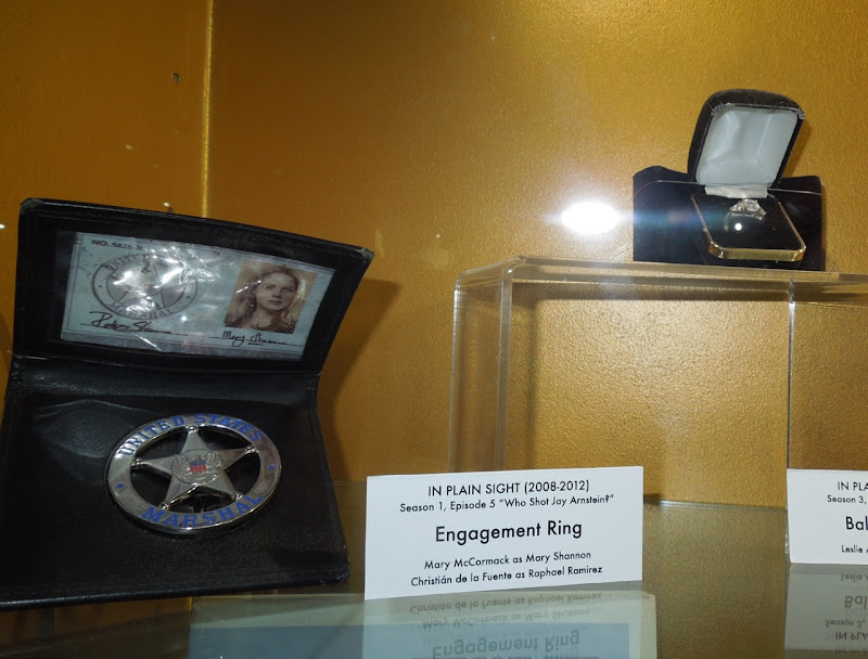 In Plain Sight ID and engagement ring props
