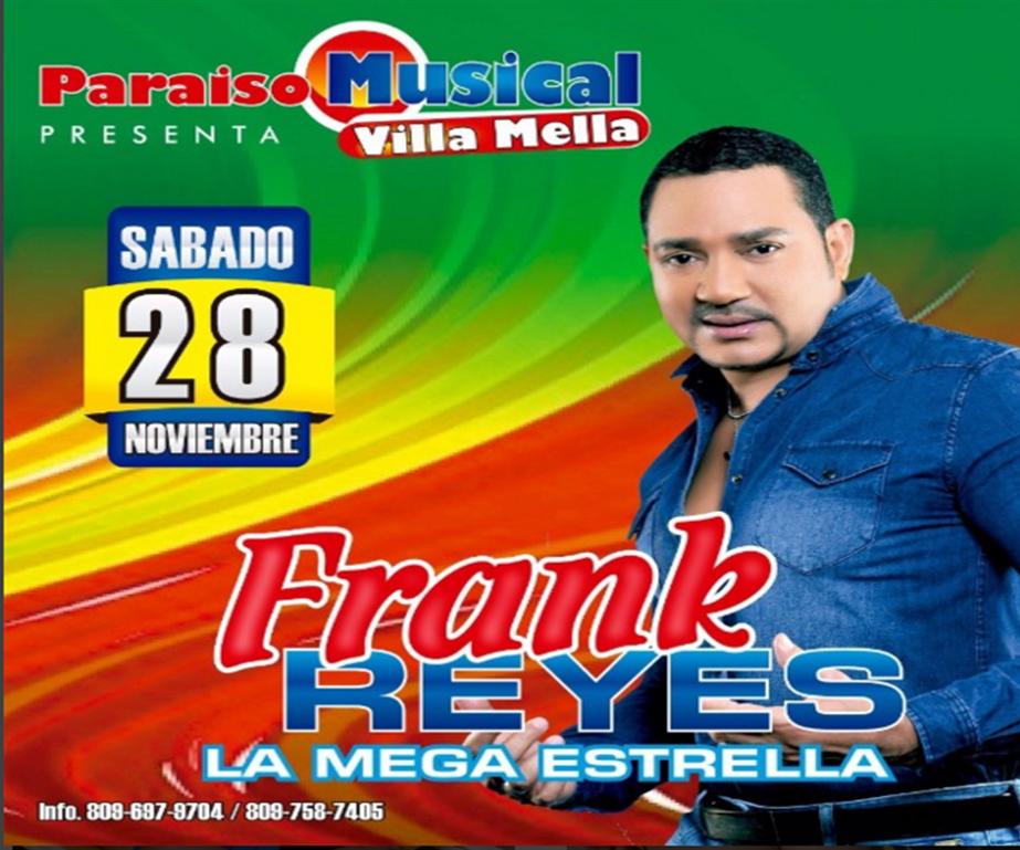 Frank Reyes en Villa Mella