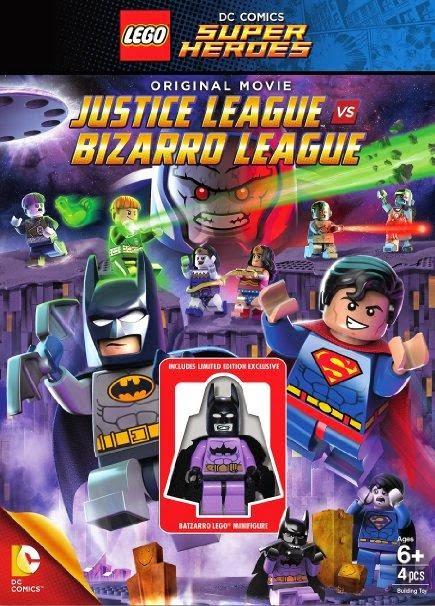 Lego Batman Justice League vs Bizarro League DVDRip Latino