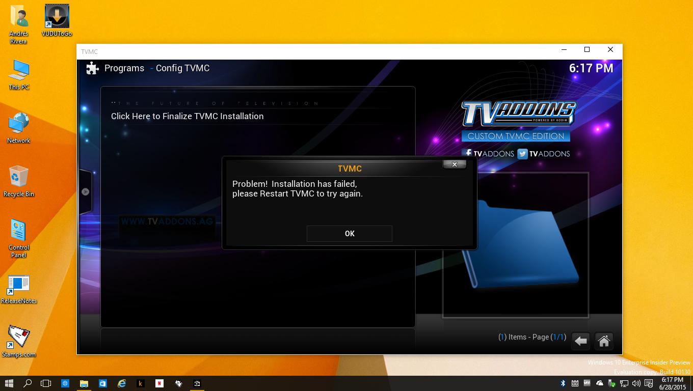 Microsoft blocking XBMC/Kodi Addons on Windows 8 and Windows 10 ...
