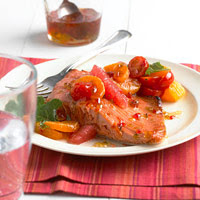 Citrus Salsa Salmon
