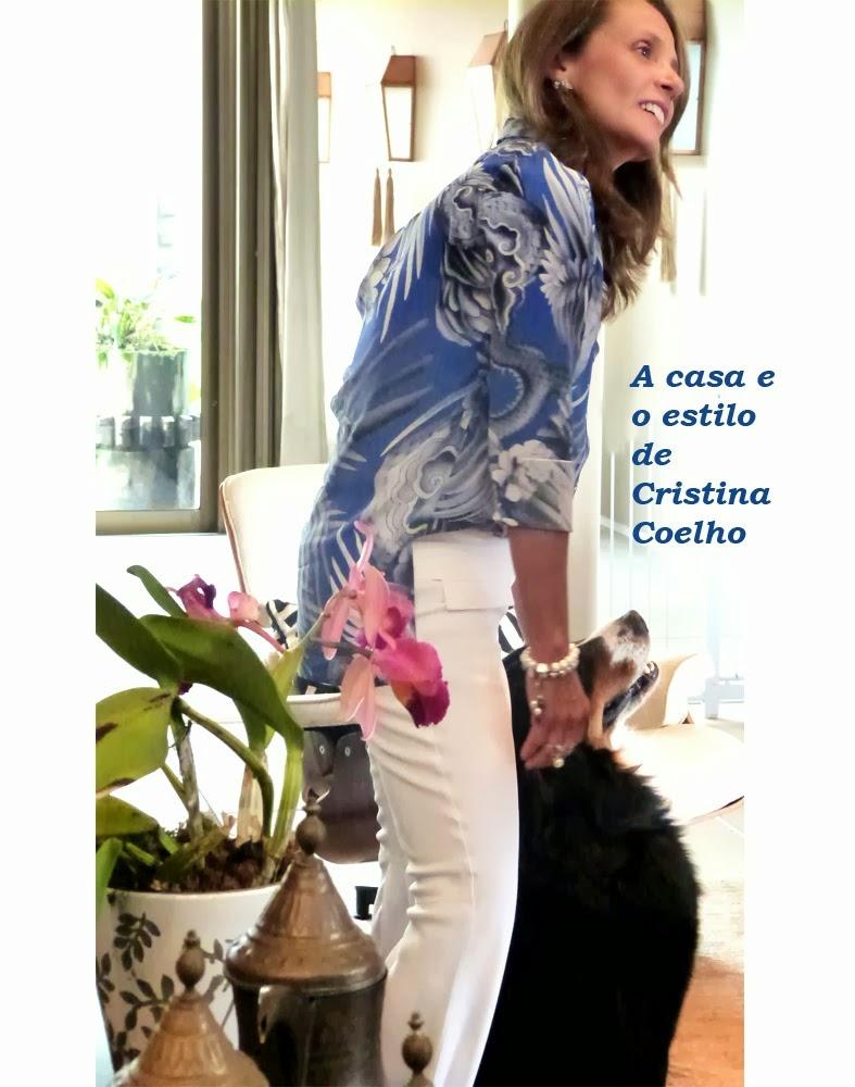 A casa e o estilo de Cristina Coelho