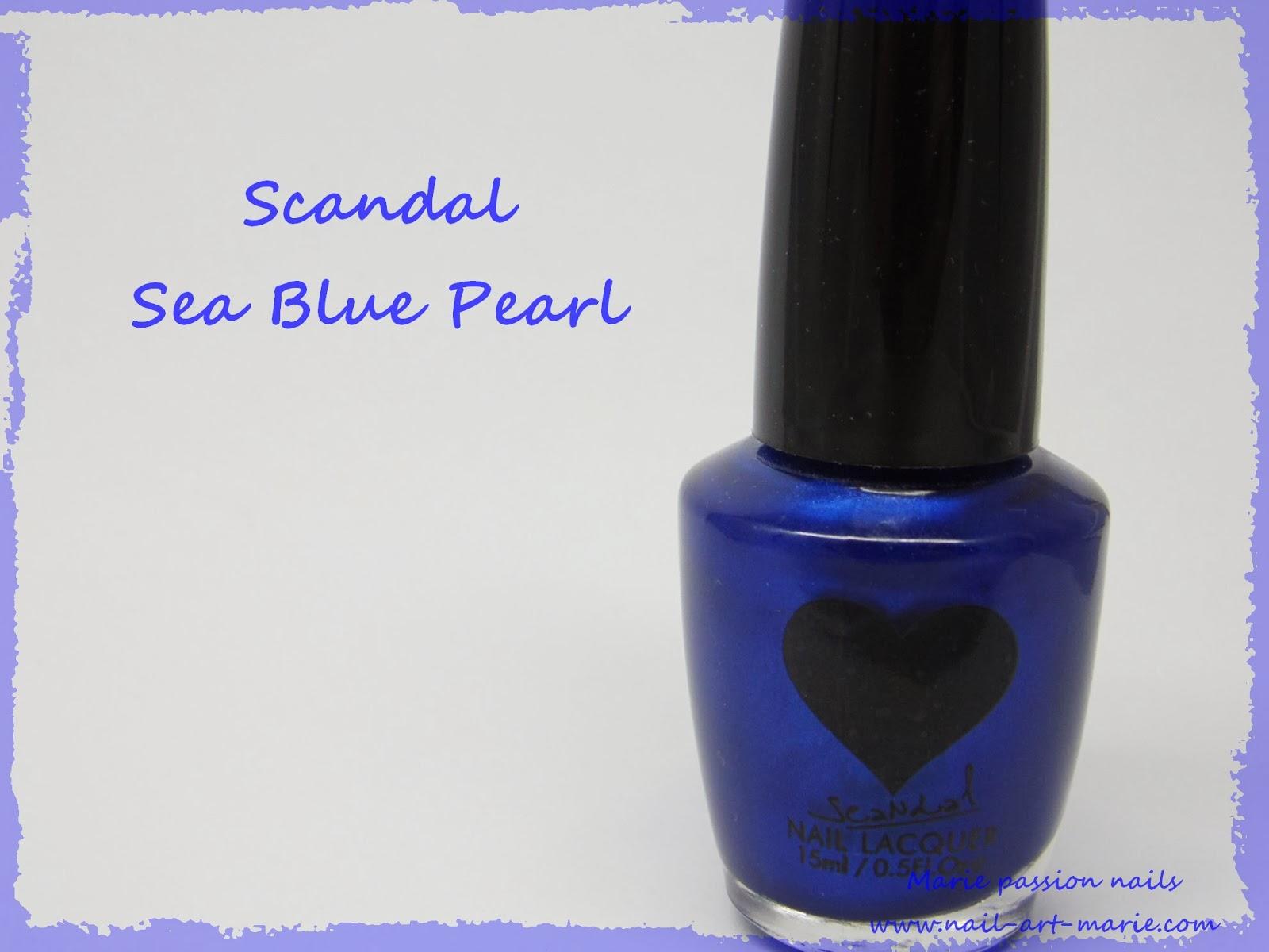 Vernis Scandal Sea Blue Pearl1