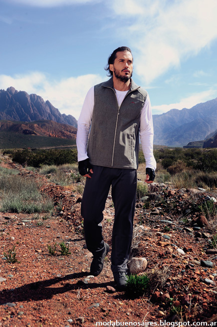 Chalecos polares Abyss ropa deportiva moda invierno 2016 hombre.