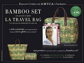 Bamboo Set travel bag